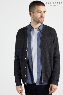 Ted Baker Gann Knitted Seed Stitch Cardigan