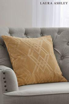 Laura Ashley Gold Maddison Cushion