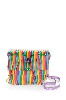 Girls Multicolour Fringe Bag