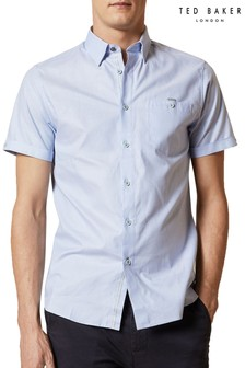 Ted Baker Yesso Short Sleeve Oxford Shirt