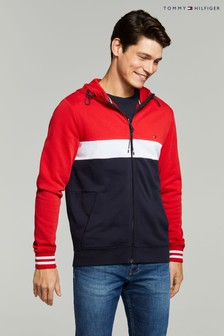 Tommy Hilfiger Colourblock Full Zip Hoody