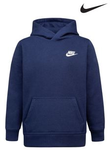 Nike Little Kids Navy Club Fleece Overhead Hoodie
