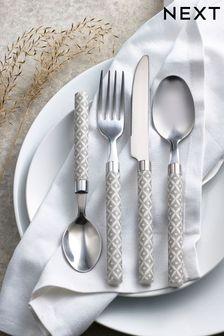 Geo 24pc Cutlery Set