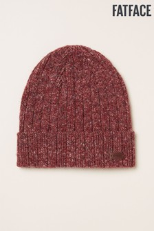 FatFace Red Nep Beanie