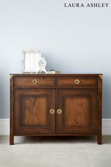 Balmoral Dark Chestnut 2 Door 2 Drawer Sideboard by Laura Ashley