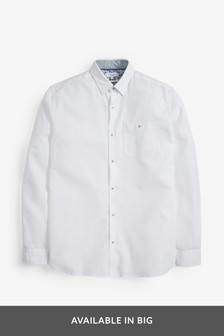 Cotton Linen Rich Roll Sleeve Shirt