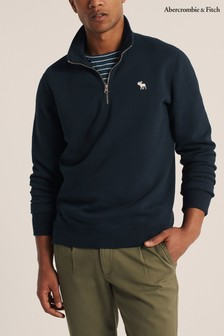 Abercrombie & Fitch Navy Icon Sweat Top
