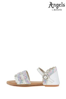 Angels by Accessorize Multi Mermaid Beaded Sandals