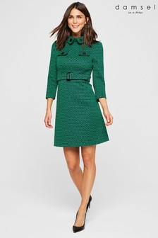 Damsel In A Dress Sabri Tweed Dress