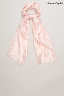 Phase Eight Pink Verity Scarf