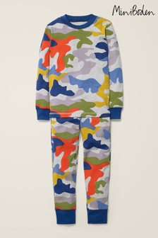 Boden Multi Cosy Long John Pyjamas