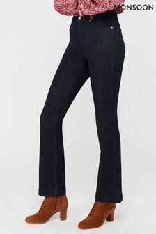 Monsoon Dark Indigo Nala Boot Cut Regular Jeans