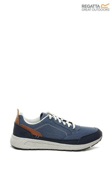 Regatta Ashcroft Washed Cotton Canvas Trainers