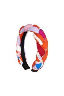 Emilio Pucci Girls Orange Headband