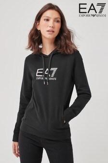 Emporio Armani EA7 Black Hoodie