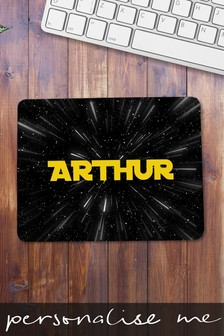 Personalised Space/Galaxy Mouse Mat