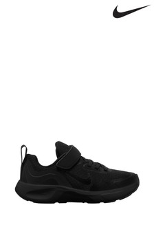 Nike Black Wearallday Junior Trainers