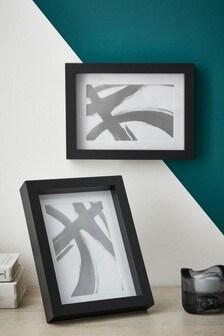 Set of 2 Black Gallery Frames