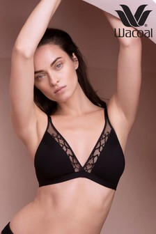 Wacoal Black Lisse Non Wired Bra