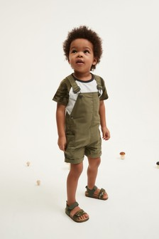 Slouchy Dungarees (3mths-7yrs)
