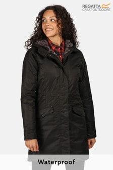 Regatta Black Rimona Waterproof Jacket