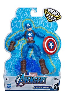 Marvel® Avengers Bend And Flex Action Figure: Captain America