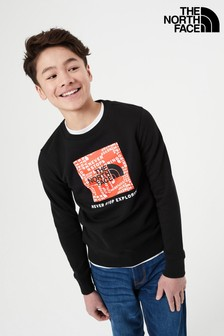 The North Face Youth Box Crew Sweat Top