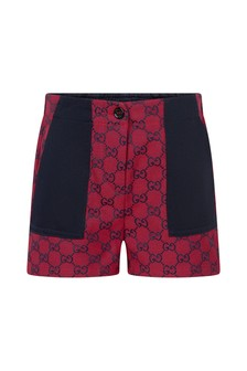 GUCCI Kids Girls Red Shorts