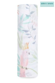 aden + anais Essentials Cotton Muslin Swaddle Blanket Tropicalia