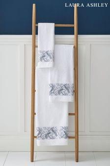 Laura Ashley Midnight Belvedere Towel