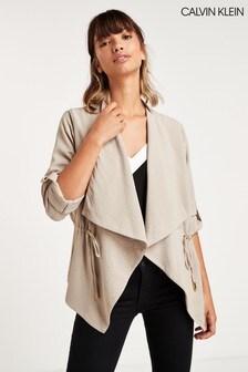 Calvin Klein Mink Flyaway Jacket