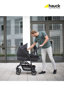Hauck Rapid 4 Plus Trioset Travel System Denim/Grey