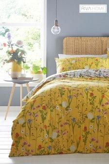 Fleura Duvet Cover and Pillowcase Set by Riva Home