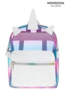 Monsoon White Rainbow Delight Plastic Backpack