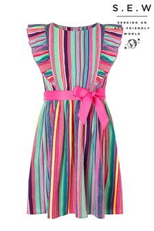 Monsoon Multi S.E.W Ophilia Stripe Dress
