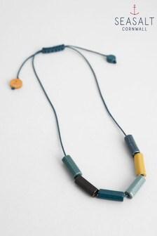 Seasalt Blue Frame Necklace