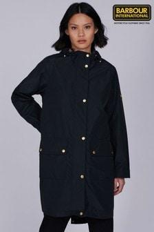 Barbour® International Black Waterproof Pedal Jacket