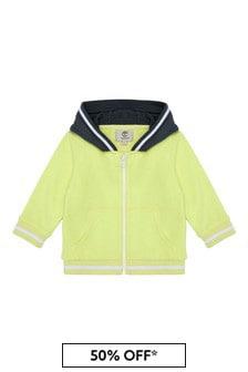 Timberland Baby Yellow Cotton Sweat Top