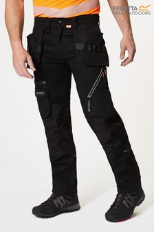 Regatta Black Execute Holster Workwear Trousers