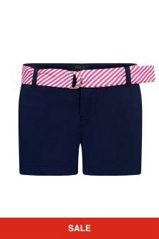 Ralph Lauren Kids Girls Cotton Shorts