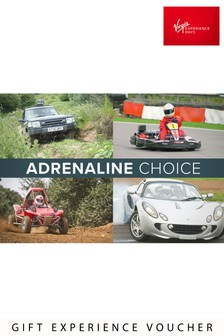 Adrenaline Choice Voucher by Virgin Gift Experiences