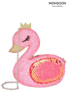 Monsoon Pink Flamboyant Flamingo Mini Bag