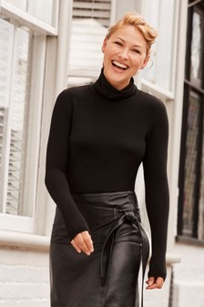 Emma Willis Roll Neck Long Sleeve Top