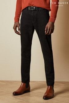 Ted Baker Telenar Tapered Black Denim Jeans