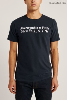 Abercrombie & Fitch Navy Heritage T-Shirt