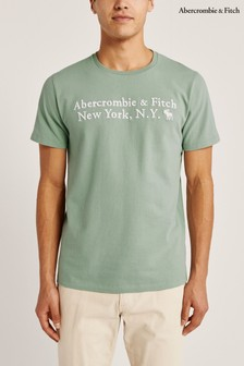 Abercrombie & Fitch Green Heritage T-Shirt