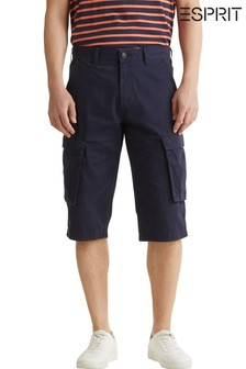 Esprit Blue Cargo Shorts