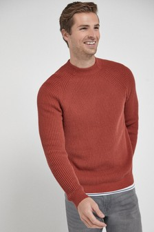 Rib Turtle Neck Jumper