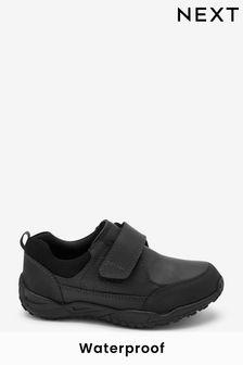 Leather Waterproof Single Strap Shoes