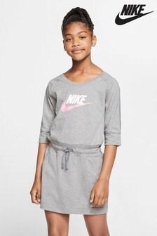 Nike Grey Jersey Dress